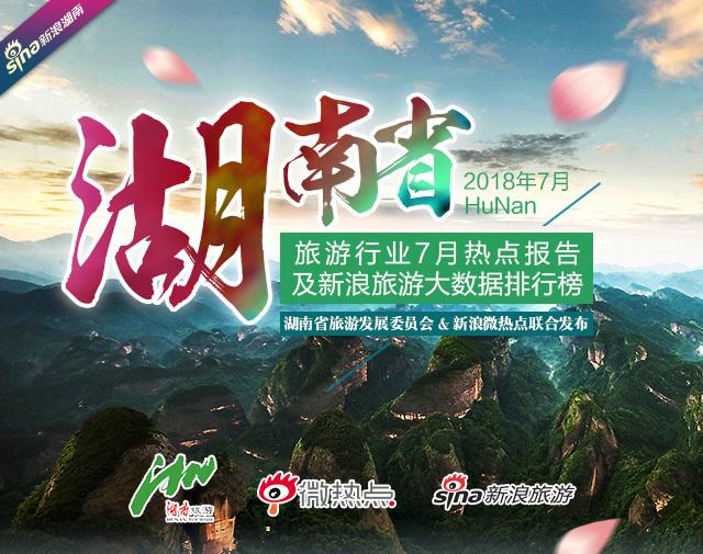 湖南省旅游行业七月数据报告
