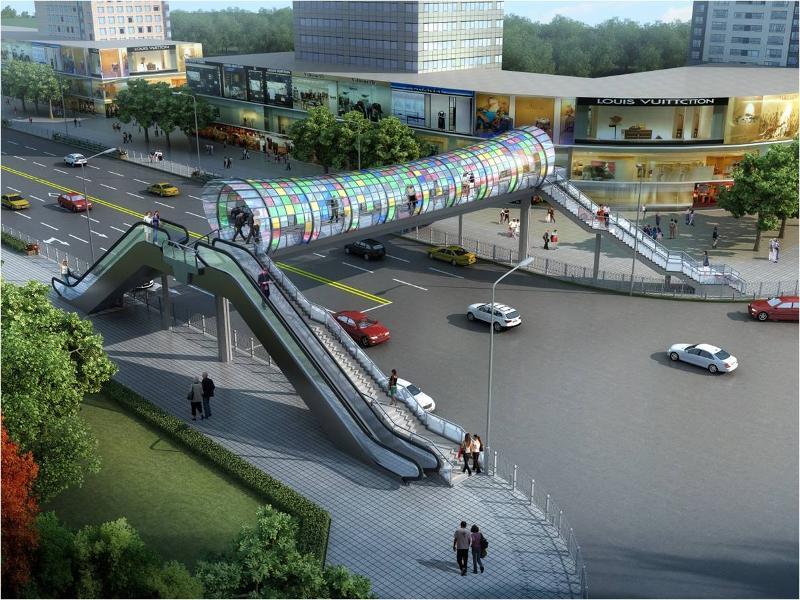 长沙拟新增25处人行立体过街设施 预计年内投入使用