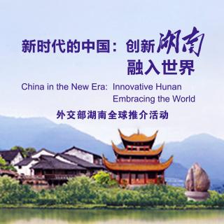 外交部湖南全球推介活动:创新湖南融入世界