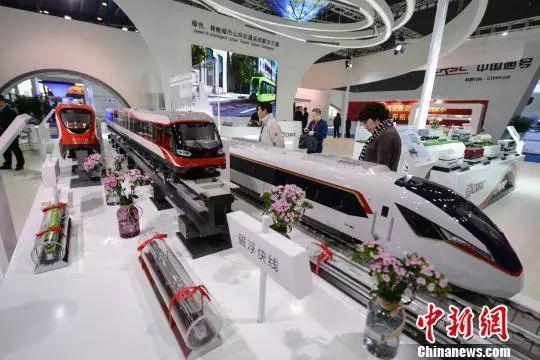 2017中国(湖南)国际轨道交通产业博览会。杨华峰 摄