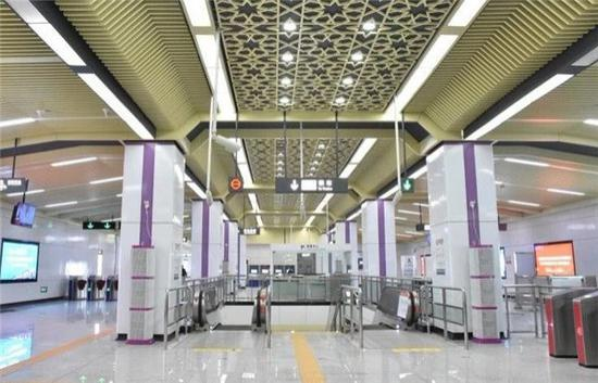 今天11点28分 长沙地铁4号线载客试运营