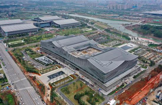 中部地区最大会议中心建成