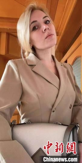 俄罗斯姑娘Anna。 受访者供图