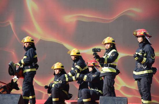 """长沙"""" 119 """"消防宣传月启动"""