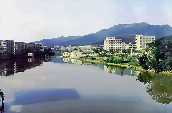 郴江 1987年 徐大卫摄