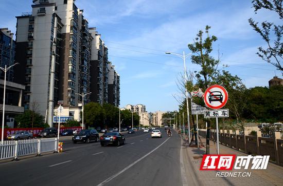 新马路已通车的路段。