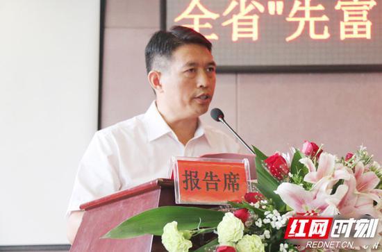 湖南万樟集团有限公司董事长刘祖治。
