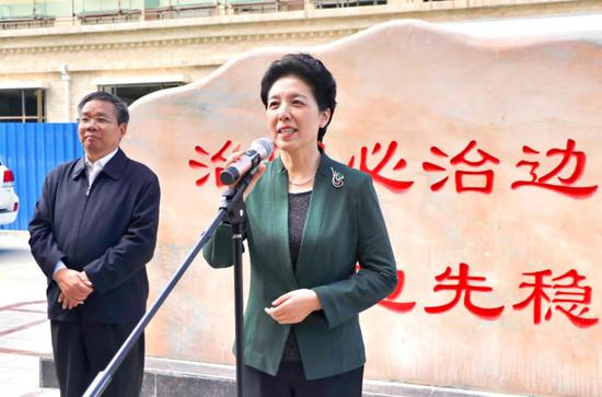 湖南党政代表团看望慰问湖南省第九批援藏工作队队员