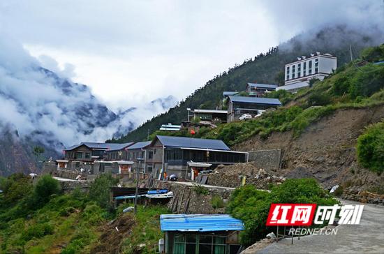 已建好的隆子县准巴乡知能村。