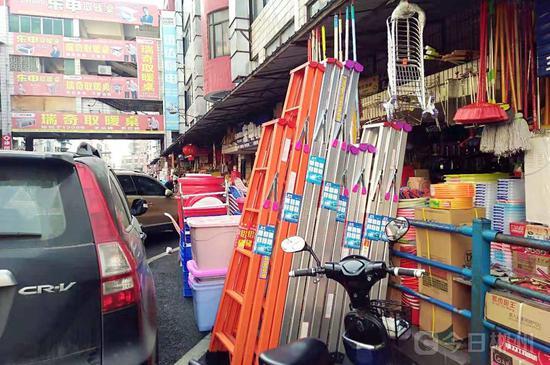 货物与车辆争地盘