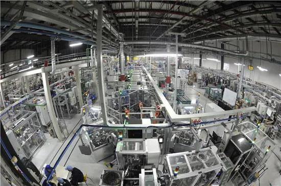 博世全新工业4.0生产线