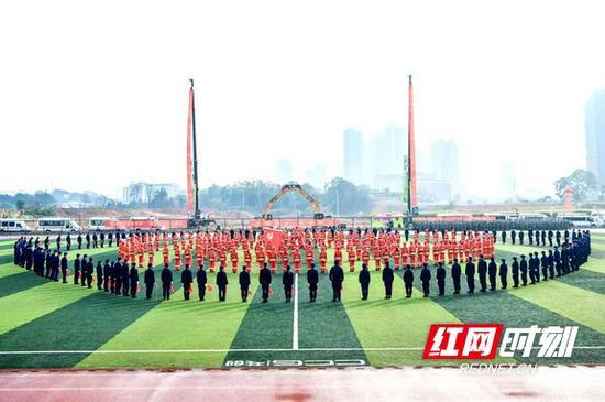 11月17日,2020年全省应急救援技能竞赛举行。