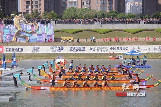在2017年,中华龙舟大赛首次落户长沙,并取得圆满成功。