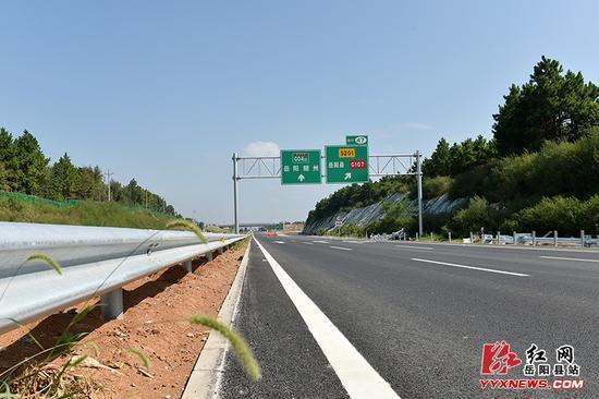 已建成的交通主线。