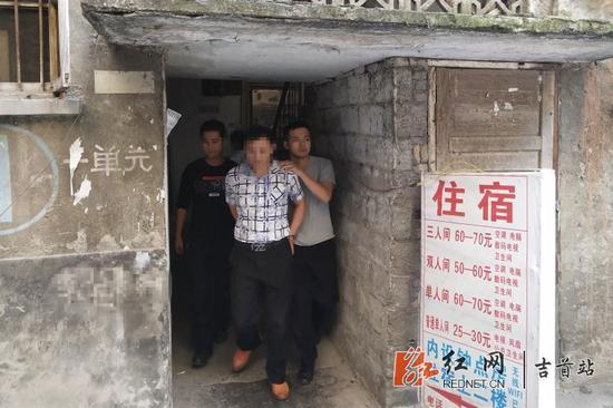 涉嫌强奸的犯罪嫌疑人李某被抓获。