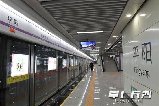 长沙地铁4号线装修完成 预计年底通车试运行
