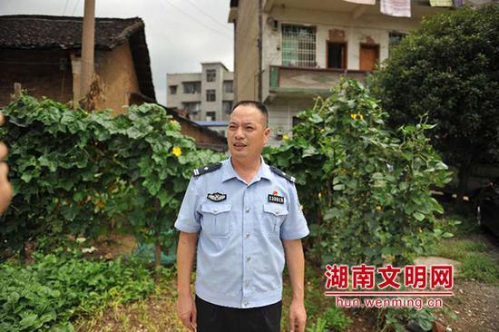 """黄其焕,2018年9月当选""""湖南好人""""。图片来源:湖南文明网"""