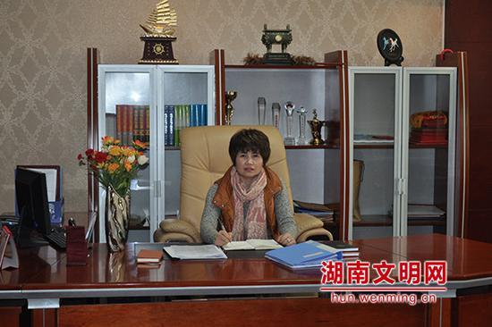 """马艳玉,2017年11月当选""""湖南好人""""。图片来源:湖南文明网"""