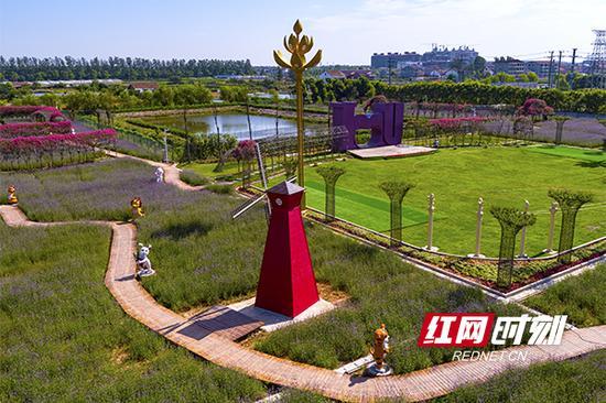 湖南发布休闲农业50个创新创意产品,图为其中的休闲农庄。