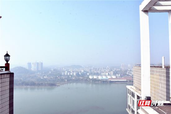 今日永州,天清气朗,江河浩荡。刘林霞 摄