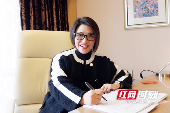 长沙市人大代表胡艳萍。