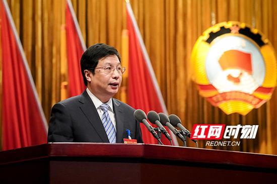 湖南省委常委、长沙市委书记胡衡华对大会的圆满成功表示祝贺并讲话。