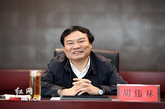 湖南省发改委党组书记、主任胡伟林。资料图