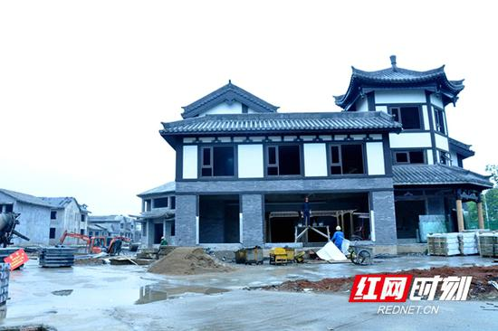 正在建设中的大唐司马文化旅游综合体。
