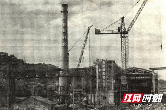 岳阳石油化工总厂建厂初期