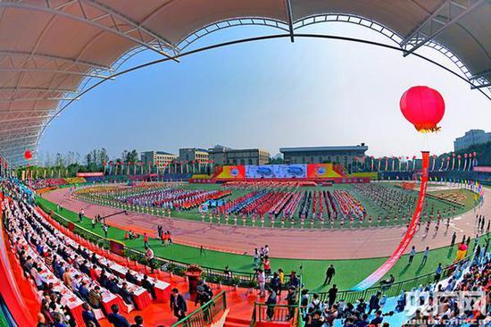 湖南科技大学创新发展大会(央广网发 通讯员方阳 摄)