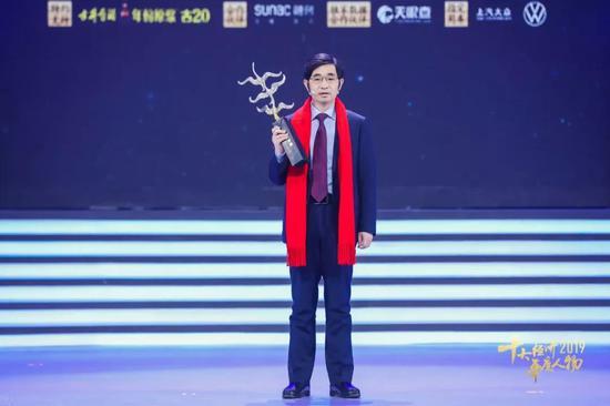 富士康工业互联网股份有限公司董事长李军旗。