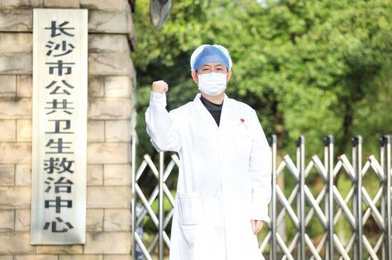 △长沙市第一医院呼吸内科副主任周志国 图 / 记者金林 张云峰