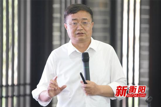 ▲湖南大三湘茶油股份有限公司董事长周新平