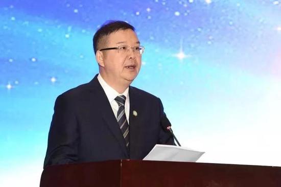 陈志强总裁当选省新阶联主席并作表态发言