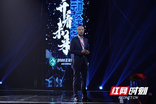 华为技术有限公司副总裁、华为中国区云与计算总裁史耀宏。