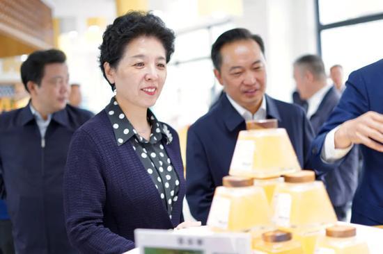 """党政代表团考察""""巅峰贡蜜""""基地"""