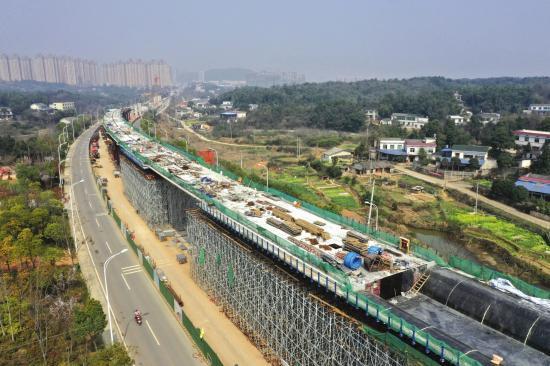 韶山到井冈山铁路计划今年竣工