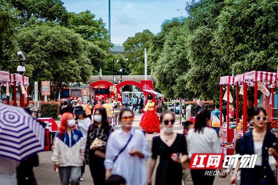 湖南文旅市场全线飘红 自驾游客成多地主力军
