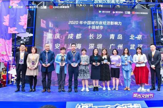 """""""夜经济""""带来新风尚!长沙再获""""2020年中国城市夜经济影响"""
