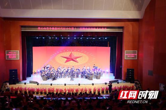 5月29日上午,第十二届湖南省体验式儿童节在省青少年活动中心欢乐开场。