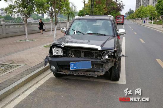 肇事车辆。
