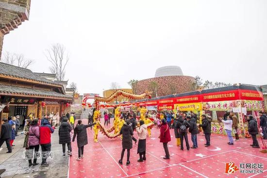 株洲醴陵瓷器口新春庙会