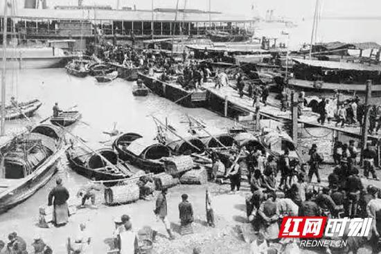 从前繁忙的水运码头