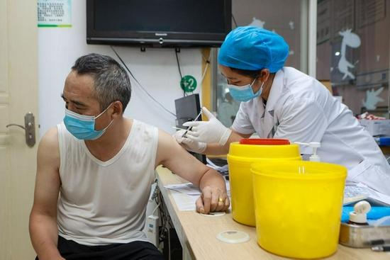 新冠疫苗接种进行时:长沙多个社区卫生服务中心开通老年人接