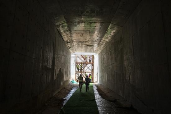 长沙地铁6号线盾构隧道全线贯通
