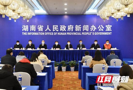 3月4日,湖南省统筹推进新冠肺炎疫情防控和经济社会发展工作新闻发布会在长沙举行。