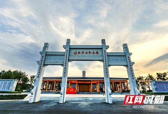 道县陈树湘烈士纪念园已成为湖南省重要的爱国主义教育基地。