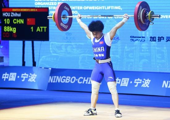 湖南首金!郴州妹子侯志慧摘东京奥运会中国队第2块金牌