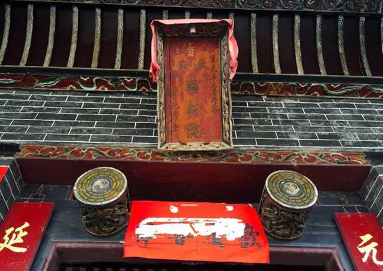 李氏家庙,始建于明朝晚期,总建筑面积191平方米。图|路人@行者