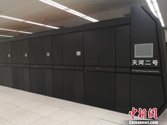 超级计算机 刘曼 摄